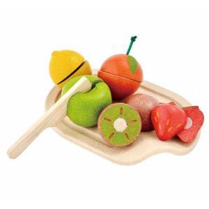 木のおもちゃ プラントイジャパンPLANTOYS 木製おままごと 詰め合わせフルーツセット3600 woodayice