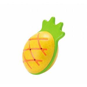 木のおもちゃ プラントイジャパンPLANTOYS 木製 楽器 パイナップルマラカス5628|woodayice