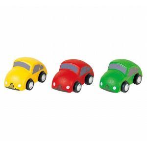木のおもちゃ プラントイジャパンPLANTOYS 木製車両・列車玩具 車II6024|woodayice
