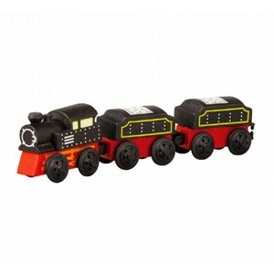 木のおもちゃ プラントイジャパンPLANTOYS 木製車両・列車玩具 クラシック列車6095|woodayice