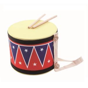 木のおもちゃ プラントイジャパンPLANTOYS 木製楽器 ビッグドラムII 6412|woodayice
