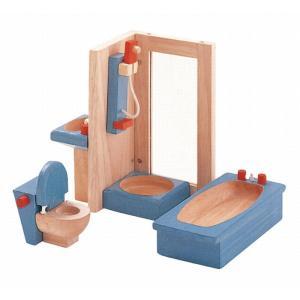 木のおもちゃ プラントイジャパンPLANTOYS 木製おままごと カラーバスルーム7308 woodayice
