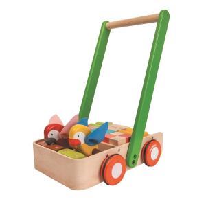 木のおもちゃ プラントイジャパンPLANTOYS 木製押し車 バードウォーカー5176 woodayice