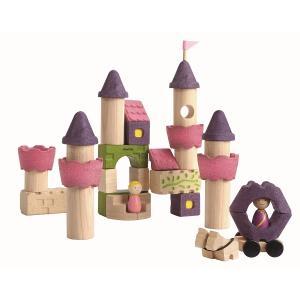 木のおもちゃ プラントイジャパンPLANTOYS 木製積み木 フェアリーテールブロック5650|woodayice