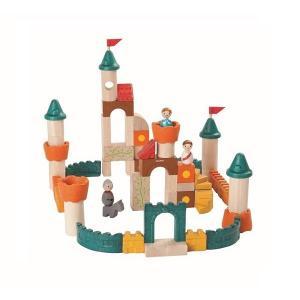 木のおもちゃ プラントイジャパンPLANTOYS 木製積み木 ファンタジーブロック5696|woodayice