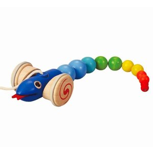 木のおもちゃ プラントイジャパンPLANTOYS 木製知育玩具 スネーク5109|woodayice