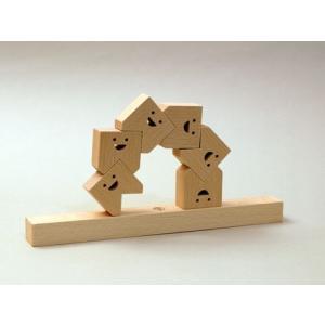 木のおもちゃ atelier-fu/アトリエ・フ 木製積み木 ・ TEETH(ティース)|woodayice