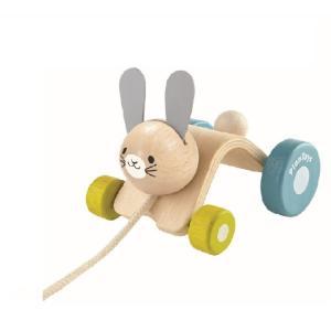 木のおもちゃ プラントイジャパン PLANTOYS 木製知育玩具 ホッピングラビット5701|woodayice