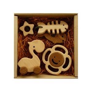 木のおもちゃ ブータレブー 木製 ベビートイ プレミアムセット|woodayice