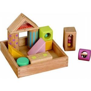 木のおもちゃ エド・インター 木製積み木 音いっぱいつみき 806371|woodayice