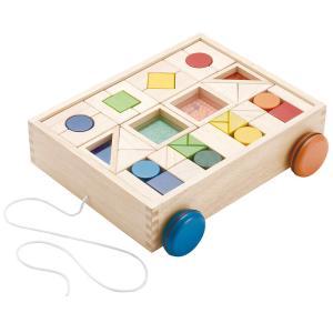 木のおもちゃ エド・インター 木製積み木 デザインつみき800249|woodayice