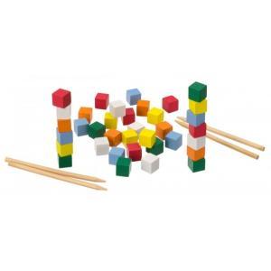 木のおもちゃ 平和工業 木製 パズル おはしであそぼ GA-01|woodayice