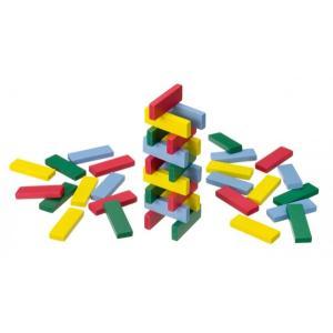 木のおもちゃ 平和工業 木製 パズル カラー板であそぼ GA-05|woodayice