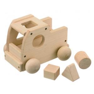 木のおもちゃ 平和工業 木製 オルゴール 森のメロディートラック W-71|woodayice