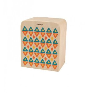 木のおもちゃ プラントイジャパンPLANTOYS 木製楽器 カホン6424|woodayice