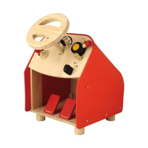 木のおもちゃ プラントイジャパンPLANTOYS 木製 知育玩具ドライビングシート 2775|woodayice