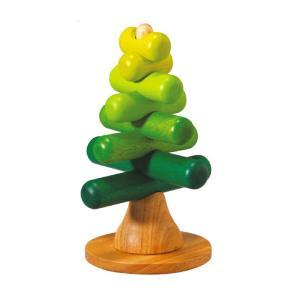 木のおもちゃ プラントイジャパンPLANTOYS 木製 知育玩具スタッキングツリー 5149|woodayice