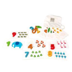 木のおもちゃ プラントイジャパンPLANTOYS 木製 知育玩具ナンバー 1-10 5165|woodayice