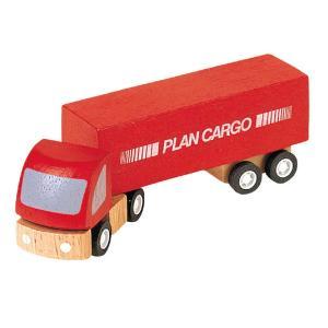 木のおもちゃ プラントイジャパンPLANTOYS 木製 車両・列車玩具貨物車 6006|woodayice