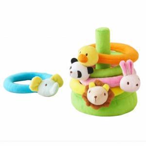 木のおもちゃ エド・インター 布のおもちゃ ふわふわなげっこ811207|woodayice