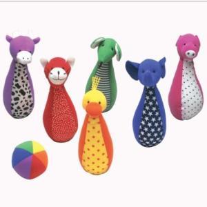 木のおもちゃ エド・インター 布のおもちゃ ソフトボーリング100050|woodayice
