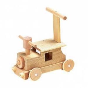 木のおもちゃ 平和工業 押し車 森の汽車ポッポ W-027 woodayice