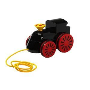 木のおもちゃ ブリオジャパン 知育玩具 木製蒸気機関車(黒)|woodayice