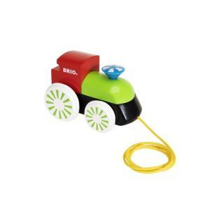 木のおもちゃ BRIO 木製 BRIO木製蒸気機関車(カラー)|woodayice