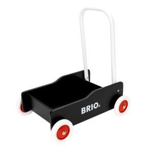 木のおもちゃ BRIO 木製 BRIO手押し車(黒)|woodayice