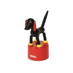木のおもちゃ BRIO 木製 BRIO起き上がりドッグ|woodayice