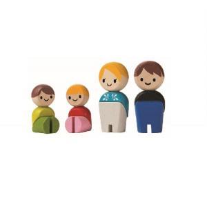 木のおもちゃ プラントイジャパン 木製 知育玩具 ファミリーA6264|woodayice