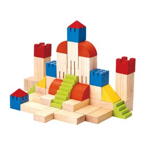 木のおもちゃ プラントイジャパンPLANTOYS 木製積み木 クリエイティブブロック 5527|woodayice