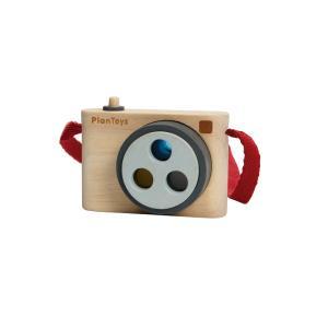木のおもちゃ プラントイジャパンPLANTOYS 木製玩具 スナップカメラ 5450|woodayice