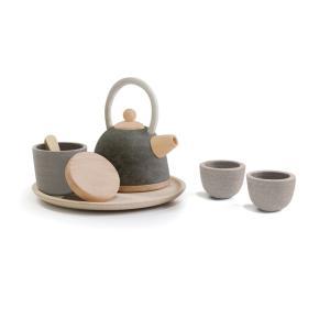 木のおもちゃ プラントイジャパンPLANTOYS 木製玩具 クラシックティーセット 3617|woodayice