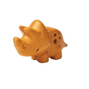 木のおもちゃ プラントイジャパンPLANTOYS 木製玩具 トリケラトプス 6132|woodayice