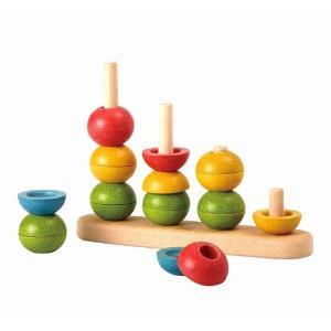 木のおもちゃ プラントイジャパンPLANTOYS 木製知育玩具 ソートアンドカウントII5614|woodayice