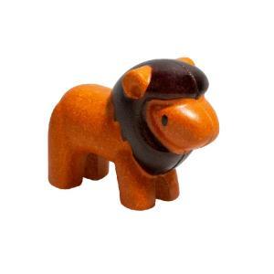 木のおもちゃ プラントイジャパンPLANTOYS 木製玩具 ライオン 6134|woodayice