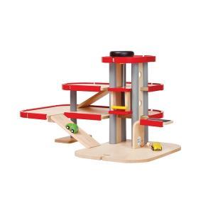 木のおもちゃ プラントイジャパンPLANTOYS 木製玩具 パーキングガレージIII 6271|woodayice