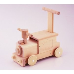木のおもちゃ 平和工業 木製 押し車 森のピイポートレイン W-036 woodayice