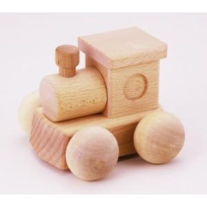 木のおもちゃ 平和工業 木製 森のメロディーロコ (曲名:ミッキーマウスマーチ) BA-24|woodayice