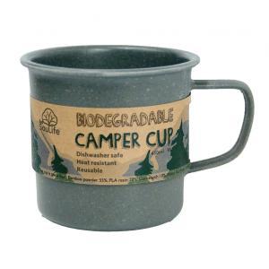 エコソウライフ キャンパーカップ Camper Cup (Charcoal) 今ならポイント10倍|woodbell-selection
