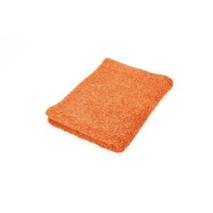 ヒポポタマス フェイスタオル (Orange オレンジ) 今ならポイント3倍|woodbell-selection