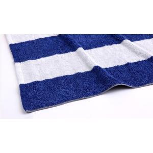 ヒポポタマス ミニバスタオル (WHITE&BLUE)|woodbell-selection