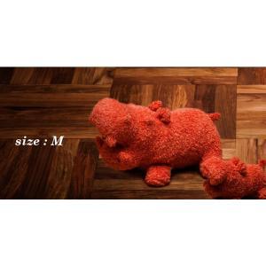 ヒポポタマス ぬいぐるみ・Soft Toy (M)Orange|woodbell-selection