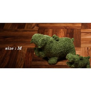 ヒポポタマス ぬいぐるみ・Soft Toy (M)Pistachio|woodbell-selection