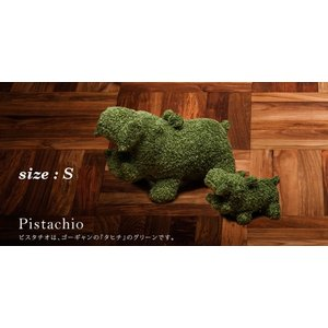 ヒポポタマス ぬいぐるみ・Soft Toy (S)Pistachio|woodbell-selection