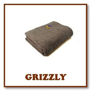 ヒポポタマス タオルケット (Grizzly グリズリー)|woodbell-selection