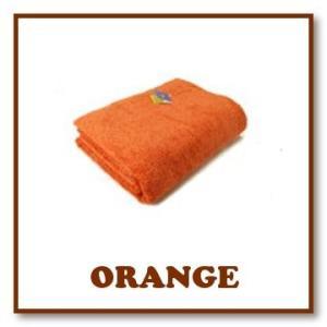 ヒポポタマス タオルケット (Orange オレンジ)|woodbell-selection