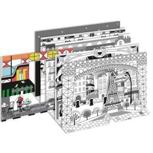 3D塗り絵 モンプチアート (Paris-パリ-) 今ならポイント10倍|woodbell-selection