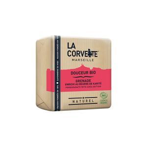 サボン・ドゥスール・ビオ ポメグラネイト&シアバター 100g|woodbell-selection